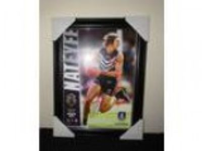 Nat Fyfe Signed Brownlow Medallist Herograph Fremantle Dockers