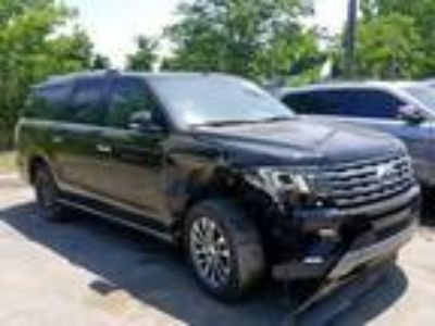 Salvage 2018 FORD EXPEDITION MAX LIMITED for Sale