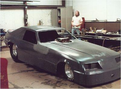 WTB 1985 Mustang funny car body