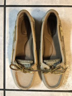 SPERRY BOAT SHOES WOMENS SIZE 6.5