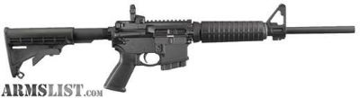 For Sale: RUGER AR-556 223 REM | 5.56 NATO
