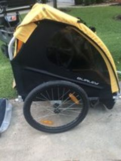 Burley Bee 2 seat bike trailer