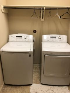 LG Direct Drive Washer Dryer Combo