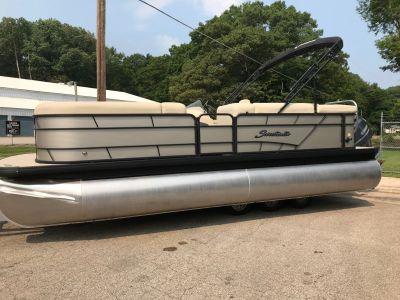 2019 Sweetwater SW2286C TriToon Pontoon Boats Coloma, MI