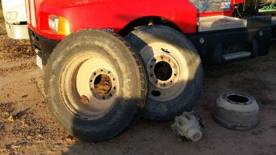 18 wheeler rims and tires 24