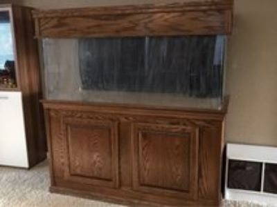 "150 Gallon 1/2"" thick Acrylic Aquarium with stand and Canopy"