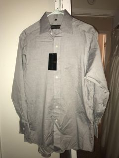 Men s dress shirt with tags size 15.5 32/33