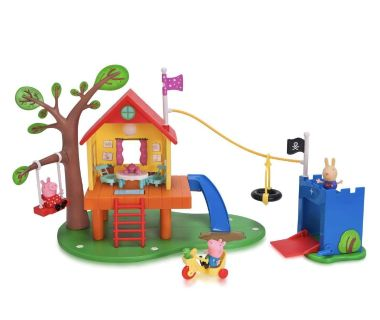 Brand new Peppa Pig Tree House and George s Fort