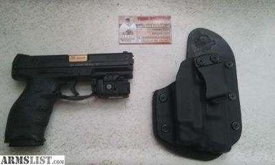 For Sale: H&K vp9 with aftermarket upgrades