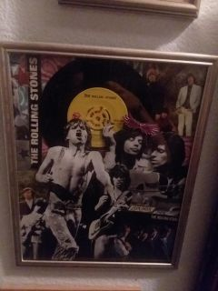 The Rolling Stones Record Wall Art