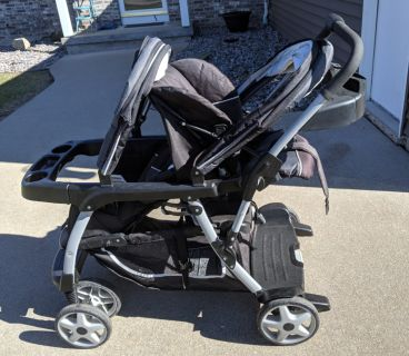 Graco Click Connect Ready2Grow Double stroller