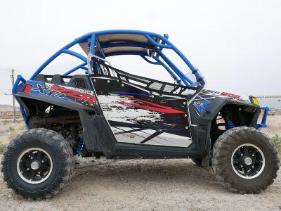 $9,599, 2012 Polaris Ranger RZR XP 900 Voodoo BlueWhiteBlack LE