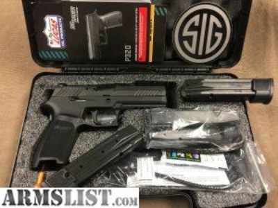 For Sale/Trade: Sig P320 Full Size TacOps