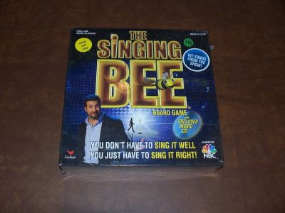 The Singing Bee Board Game