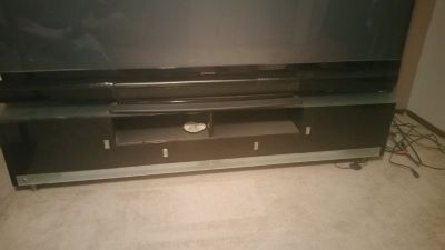 TV STAND ENTERTAINMENT CENTER HOLDS 93""