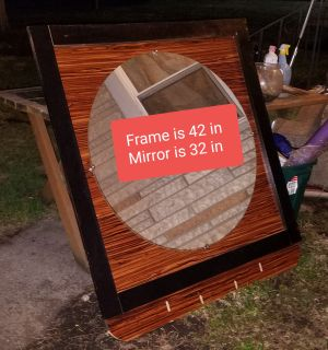 32 in Large mirror