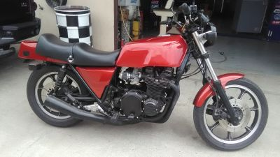 1980 Kawasaki KZ1000 Shaft drive