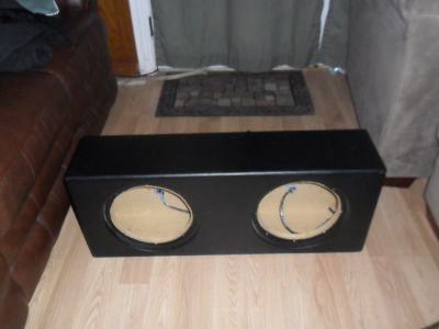 Slim Subwoofer Box