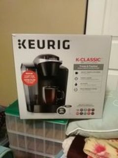 Brand new Keurig coffee maker