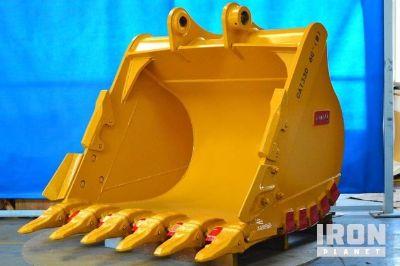 """Tacsa 60"""" HD Excavator Bucket - Fits Cat 330 - Unused"""