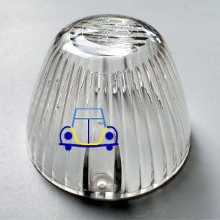 Ghia/T3 Turn Signal Lens, Clear Plastic, 64-69