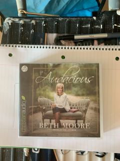 Beth Moore. Audacious book on CD