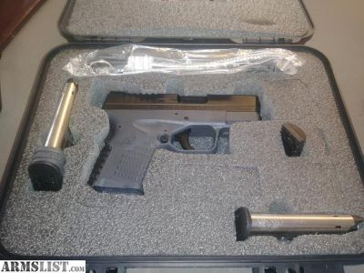 For Sale: Springfield XD9-S 3.3