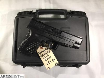 "For Sale/Trade: Springfield Armory 4"" XDS"