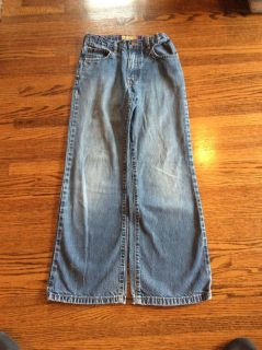 Old Navy faded bootcut blue jeans size 12 slim