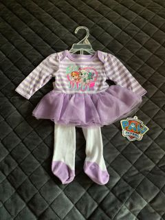 New with tags paw patrol outfit newborn