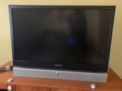 42 Samsung DLP television - Free for pickup