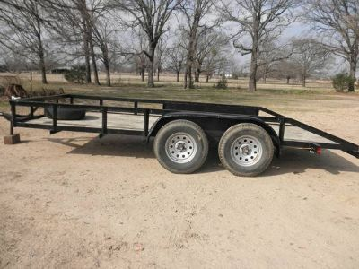 16ft. flatbed trailer