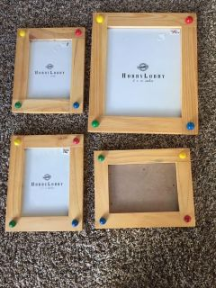 4 whimsical picture frames
