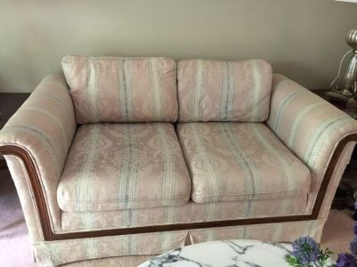 Living room furniture - couch, love seat , chair