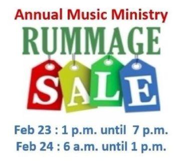Love of Christ Church Annual Rummage Sale
