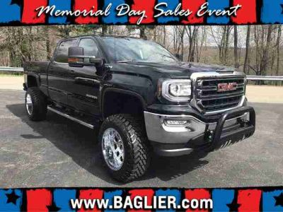 2017 GMC Sierra 1500 Lifted SLE New 20 in Chrome Whls/Tires Heated Cloth LED