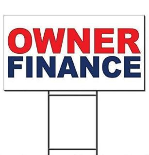 Owner Financing Program!