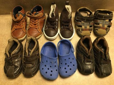 Toddler size 6 shoes lot