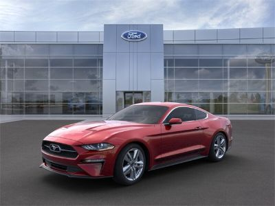 2019 Ford Mustang EcoBoost Premium (Ruby Red Metallic)