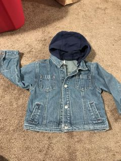 24month Carter s Jean jacket with hood