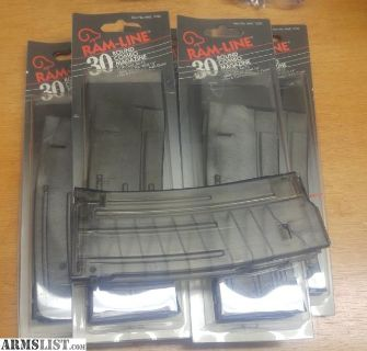 For Sale: Pre-Ban 30rd Ram-Line combo multi-mags for Mini-14, AR-15, AR180 and others! Magazine magazines mag mags clip clips