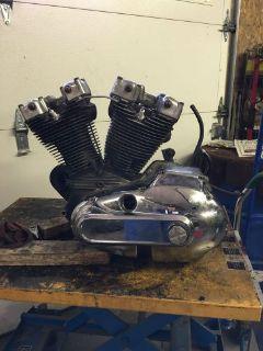 Purchase 1974 Harley Davidson XLCH 1000 Sportster Engine Motor Transmission Kick Start motorcycle in Neffs, Ohio, United States, for US $999.99