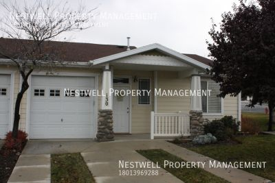 Really Nice 2 Bedroom ADA Accessible Townhouse in North Salt Lake!
