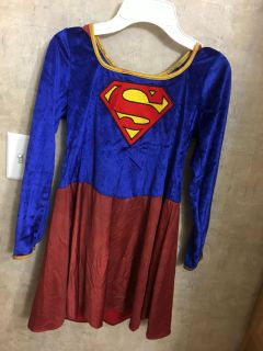 Girls size 10 Supergirl costume