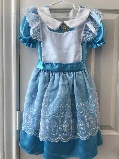 Whimsical & Richly Detailed DISNEY STORE Exclusive ALICE IN WONDERLAND Halloween Costume