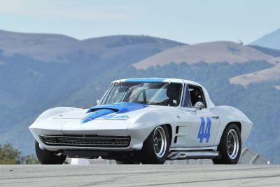 1963 Corvette SWC Monterey eligible