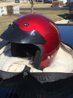 Motorcycle helmet with carry case