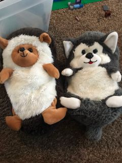 Stuffed animals that roll up