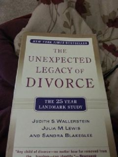 "$9 ""The Unexpected Legacy of Divorce"" Judith Wallerstein"