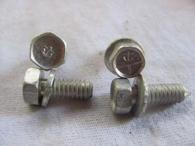Find 63 64 65 66 67 Corvette Hood Prop Bolts ORIGINAL RESTORED Anchor GREAT SHAPE motorcycle in Macungie, Pennsylvania, US, for US $60.00